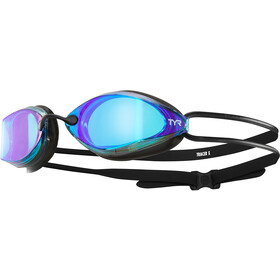 TYR Tracer X-Racing Mirrored Goggles Blue/Black